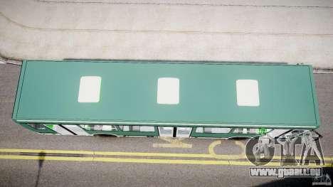 LIAZ 5256 für GTA 4 Rückansicht