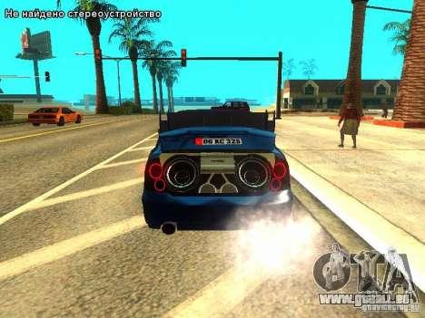 Hyundai Accent Era pour GTA San Andreas vue de côté