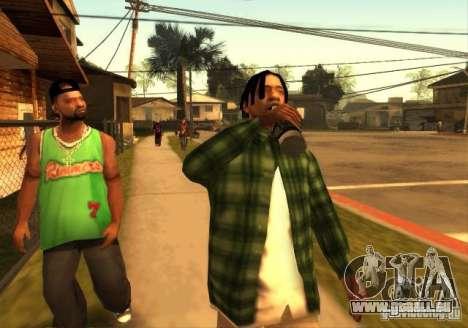 Standardmodelle der Grove Street für GTA San Andreas zweiten Screenshot