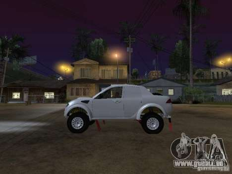 Mitsubishi L200 Triton pour GTA San Andreas laissé vue