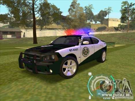 Dodge Charger Policia Civil from Fast Five für GTA San Andreas