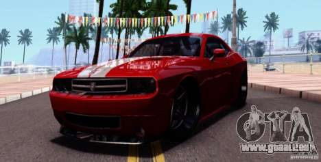 Dodge Challenger Rampage Customs pour GTA San Andreas
