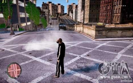 Costume de ADIDAS pour GTA 4 secondes d'écran