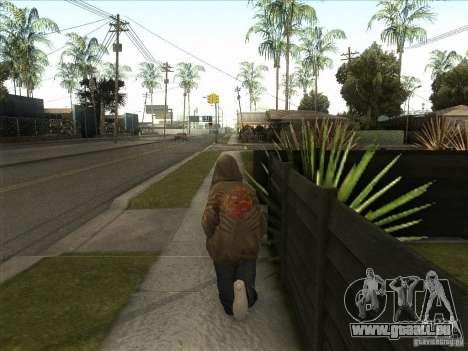 Ryo NFS PS pour GTA San Andreas quatrième écran