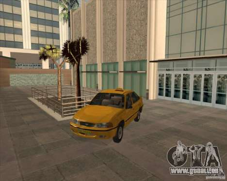 Daewoo Nexia Taxi pour GTA San Andreas