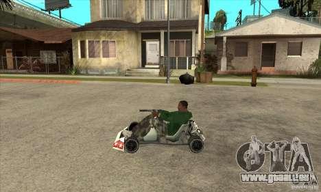 Stage 6 Kart Beta v1.0 für GTA San Andreas linke Ansicht