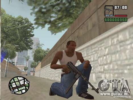 Mafia II Full Weapons Pack pour GTA San Andreas troisième écran