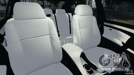 BMW M5 E60 2009 v2.0 für GTA 4 Innenansicht