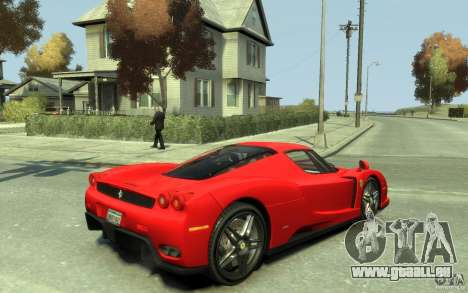Ferrari Enzo [EPM] v1 pour GTA 4 est un droit
