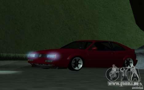 Volkswagen Corrado pour GTA San Andreas sur la vue arrière gauche