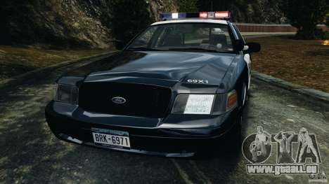 Ford Crown Victoria Police Interceptor 2003 LCPD für GTA 4 Innenansicht