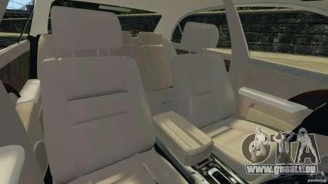 Honda Acura RL pour GTA 4 Vue arrière
