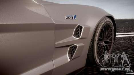 Chevrolet Corvette ZR1 2009 v1.2 für GTA 4 Innen