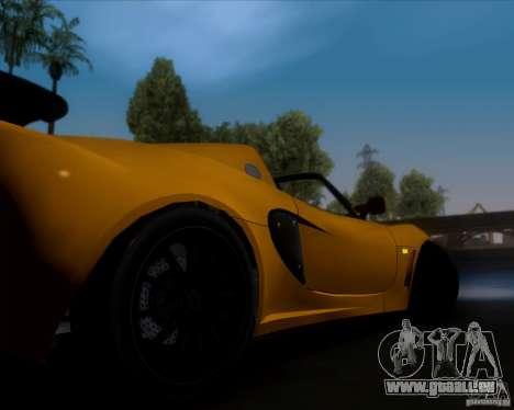 Lotus Exige für GTA San Andreas Unteransicht