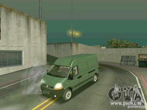 Renault Master pour GTA San Andreas