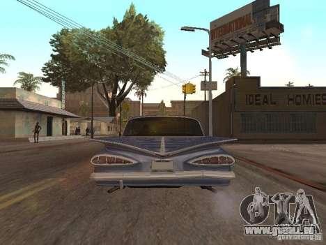 Chevrolet Biscayne 1959 pour GTA San Andreas vue de droite