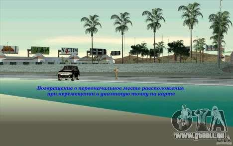 Skorpro Mods Vol.2 pour GTA San Andreas deuxième écran