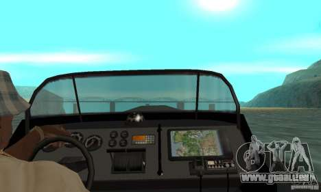 GTAIV Dinghy für GTA San Andreas Rückansicht