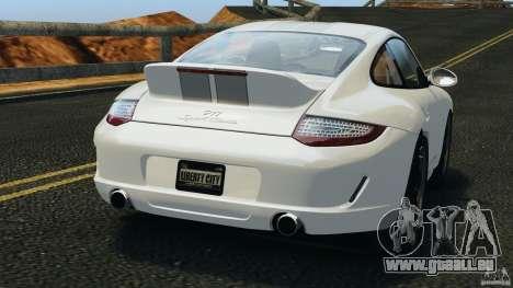 Porsche 911 Sport Classic 2010 für GTA 4 hinten links Ansicht