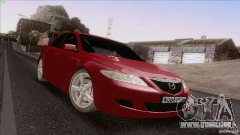 Mazda 6 2006 pour GTA San Andreas vue de côté