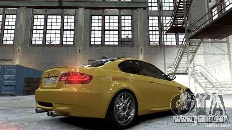 BMW M3 E92 2008 für GTA 4 linke Ansicht