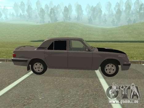 GAZ Volga 31105 restylage pour GTA San Andreas laissé vue
