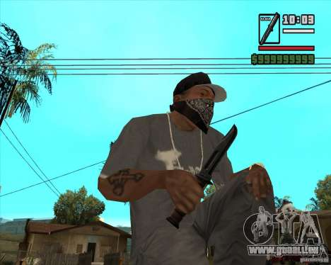 Millenias Weapon Pack für GTA San Andreas sechsten Screenshot