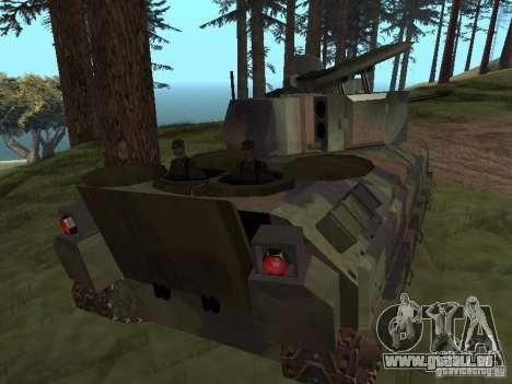 M2A3 Bradley pour GTA San Andreas vue de droite