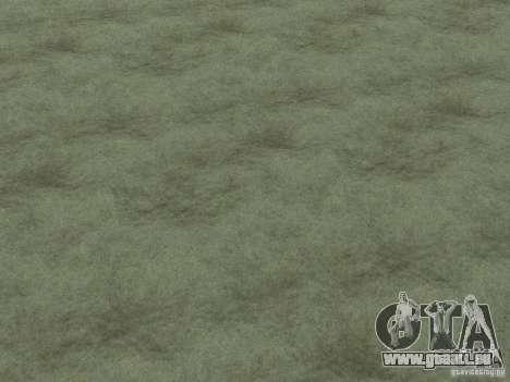 Textures HD des fonds marins pour GTA San Andreas sixième écran