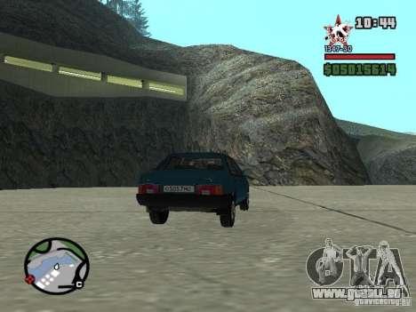 Todas Ruas v3.0 (San Fierro) pour GTA San Andreas cinquième écran