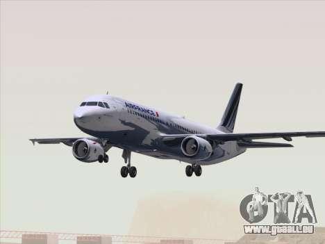 Airbus A320-211 Air France für GTA San Andreas Unteransicht