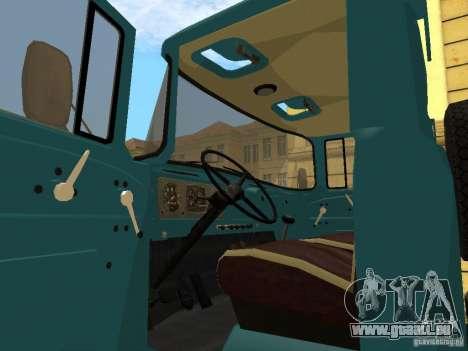 ZIL 130 für GTA San Andreas zurück linke Ansicht