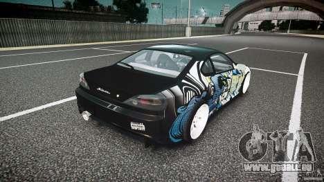 Nissan Silvia S15 Drift v1.1 für GTA 4 obere Ansicht
