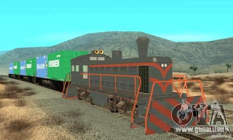 Lokomotive für GTA San Andreas