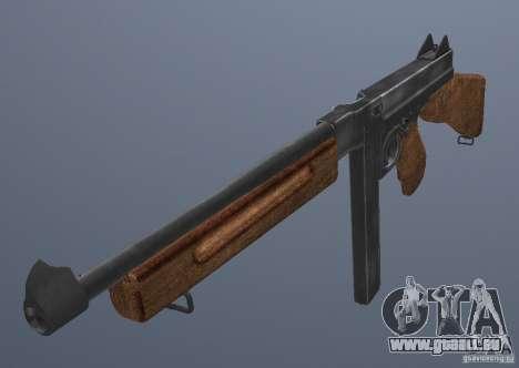 M1 Thompson für GTA San Andreas zweiten Screenshot