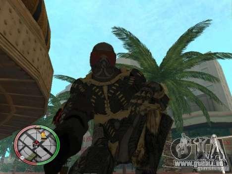 Armes exotiques de Crysis 2 pour GTA San Andreas deuxième écran