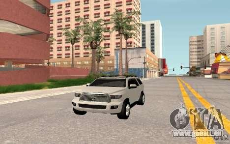 Toyota Sequoia 2011 pour GTA San Andreas