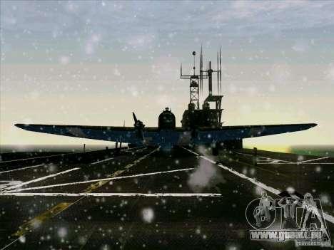 TB-3 pour GTA San Andreas laissé vue