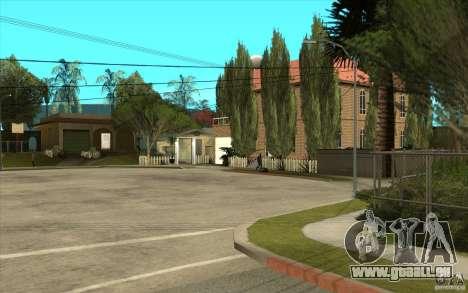 New Grove Street TADO edition pour GTA San Andreas quatrième écran