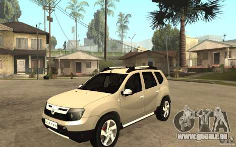 Dacia Duster 2010 SUV 4x4 pour GTA San Andreas