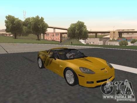 Chevrolet Corvette Z06 für GTA San Andreas Seitenansicht