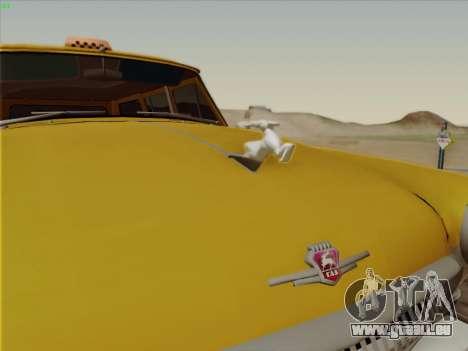 GAZ 22 pour GTA San Andreas vue intérieure