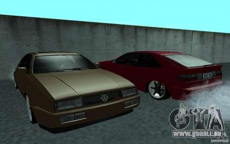 Volkswagen Corrado pour GTA San Andreas vue de droite