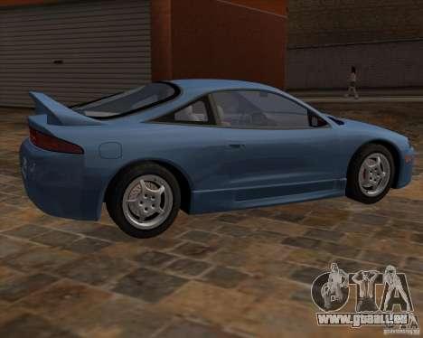 Mitsubishi Eclipse TPS de NFS Carbon pour GTA San Andreas vue de droite