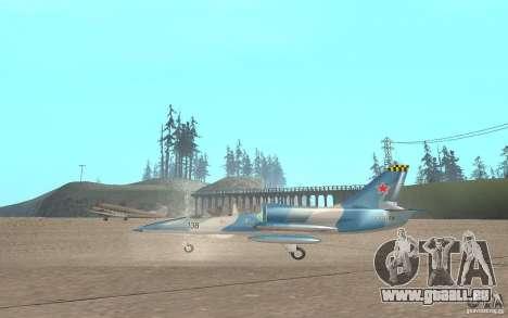 L-39 Albatross für GTA San Andreas zurück linke Ansicht