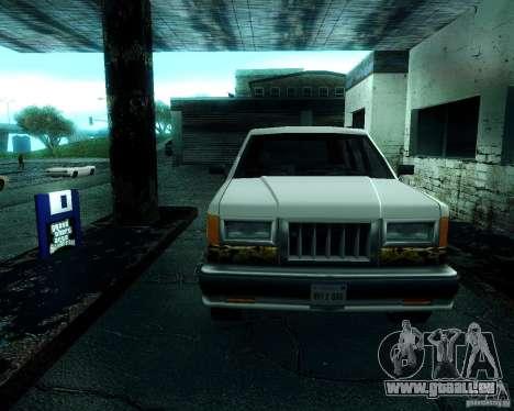 Landstalker pour GTA San Andreas laissé vue