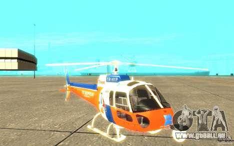 AS-350 TV pour GTA San Andreas laissé vue