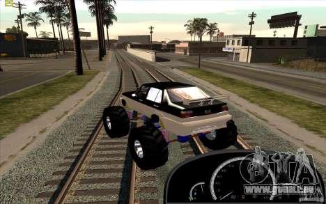 Jetta Monster Truck pour GTA San Andreas laissé vue