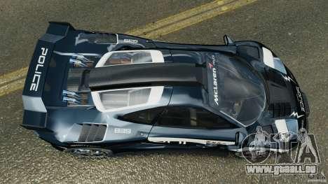 McLaren F1 ELITE Police [ELS] pour GTA 4 est un droit