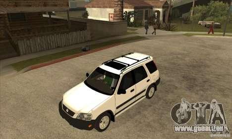 Honda CRV 1997 für GTA San Andreas Innenansicht